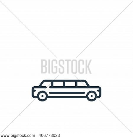 Limousine Vector Icon From Fame Collection Isolated On White Background