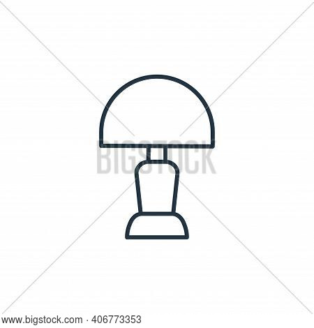 light icon isolated on white background from interiors collection. light icon thin line outline line