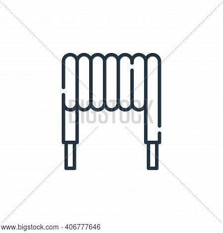 inductor icon isolated on white background from electrician tools and elements collection. inductor
