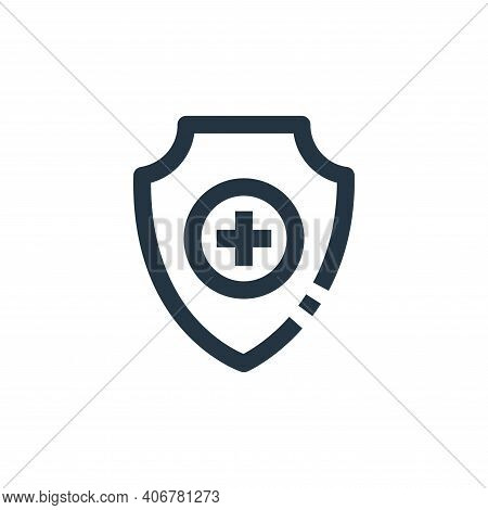 health insurance icon isolated on white background from medical collection. health insurance icon th