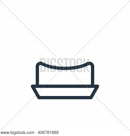 hat icon isolated on white background from fashion collection. hat icon thin line outline linear hat