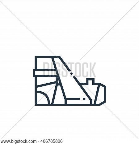 fracture icon isolated on white background from medical services collection. fracture icon thin line