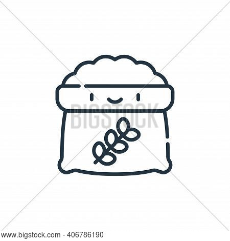 food icon isolated on white background from animal welfare collection. food icon thin line outline l
