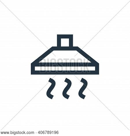 extractor icon isolated on white background from electronics collection. extractor icon thin line ou