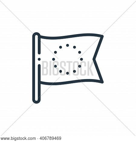 europe icon isolated on white background from europe collection. europe icon thin line outline linea