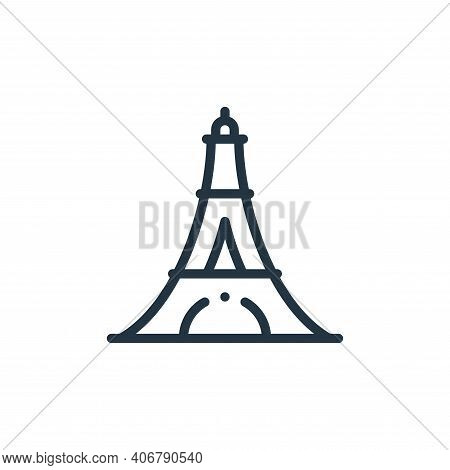 Eiffel Tower Vector Icon From Europe Collection Isolated On White Background