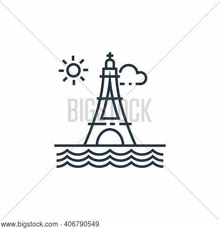 Eiffel Tower Vector Icon From Tourism Collection Isolated On White Background