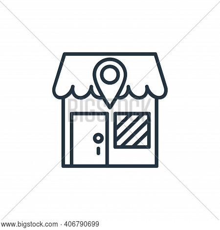 ecommerce icon isolated on white background from shopping line icons collection. ecommerce icon thin