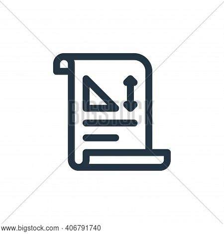drawing icon isolated on white background from europe collection. drawing icon thin line outline lin