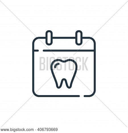 dentist icon isolated on white background from dental care collection. dentist icon thin line outlin