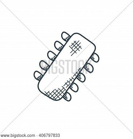 circuit icon isolated on white background from technology collection. circuit icon thin line outline