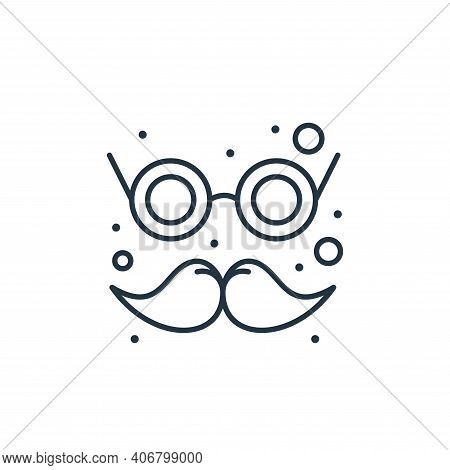 carnival mask icon isolated on white background from brazilian carnival collection. carnival mask ic