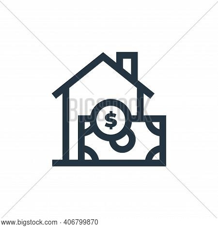 buy icon isolated on white background from real estate collection. buy icon thin line outline linear