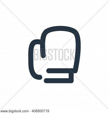 boxing icon isolated on white background from sport collection. boxing icon thin line outline linear