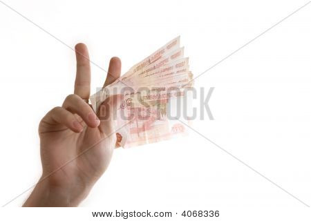 Win A Victory Hand With Russian Money