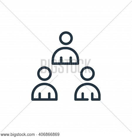 avoid crowds icon isolated on white background from symptoms virus collection. avoid crowds icon thi
