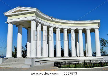 Columns in Odessa, Ukraine