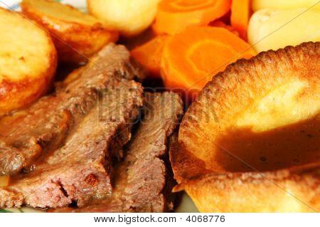 Roast Beef Meal Macro
