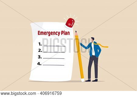 Business Emergency Plan, Checklist To Do When Disaster Happen To Continue Business And Build Resilie