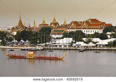 Royal Barge Procession In Thailand