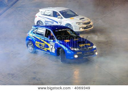 Russ And Paul Swift Performing Donuts