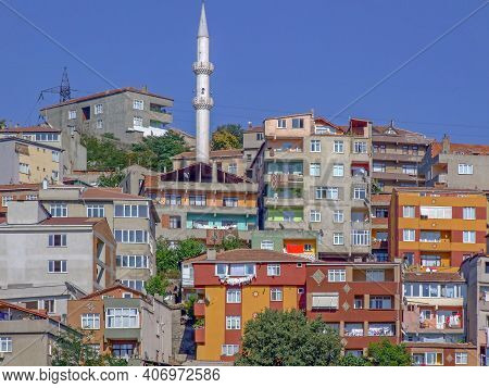 Beyoglu Residental Buldings At Beyoglu Istanbul Turkey