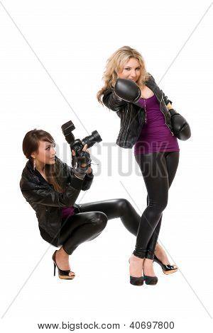 Ravishing Women With The Camera