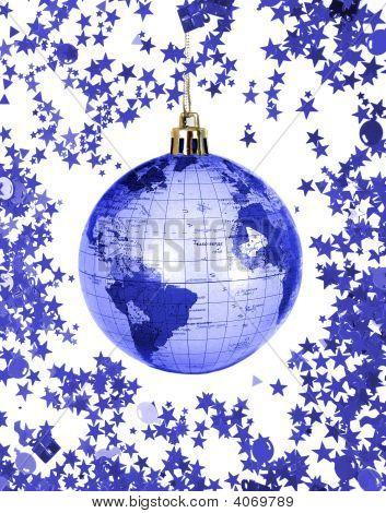 Christmas World Globe