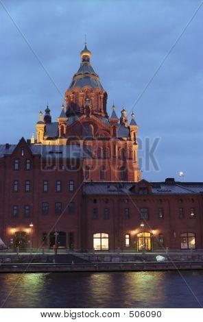 Russian Temple. Helsinki