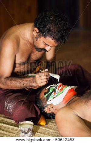 Kathakali Preparation