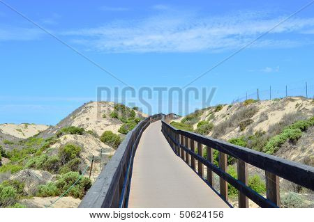 Oso Flaco Boardwalk Through Dunes