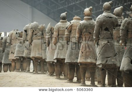 Terracotta Soldiers And Army Xi'an Province, China