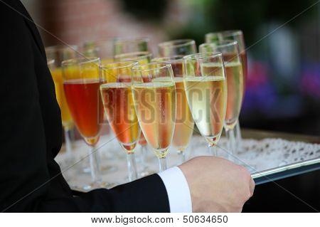 Colorful Reception Glasses