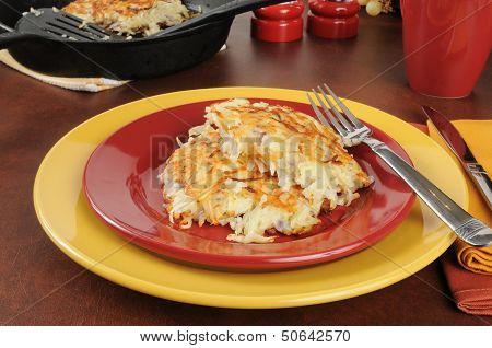 Potato Pancakes Or Latkes