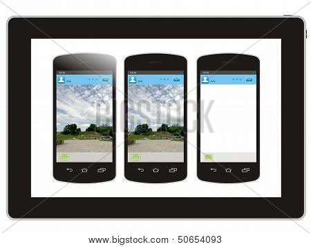 Tablet And Smart Phone