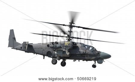 Isolated Attack Helicopter