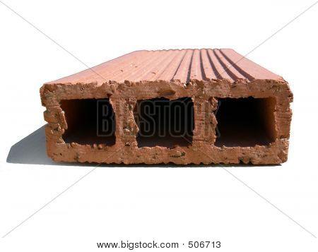 Brick Over White