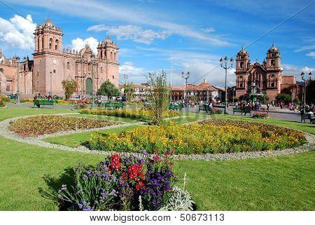 Iglesia La Compana de Jesus Cusco Peru.