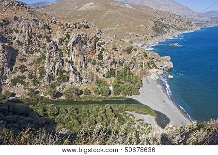 palm Beach at Preveli