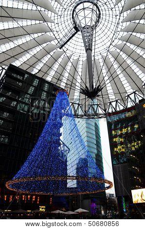 Christmas Tree at Potsdamer Plaz