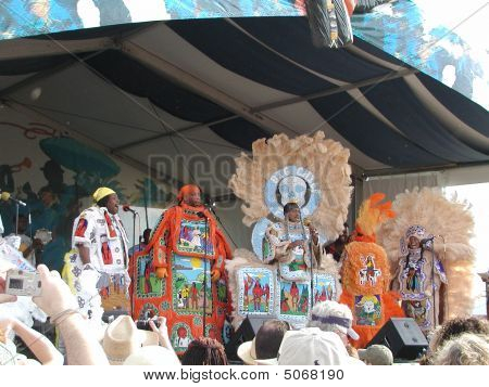 Hard Head Hunters Mardi Gras Indians 03