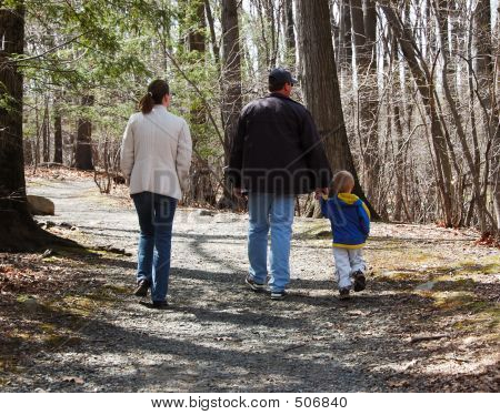 Family Walking