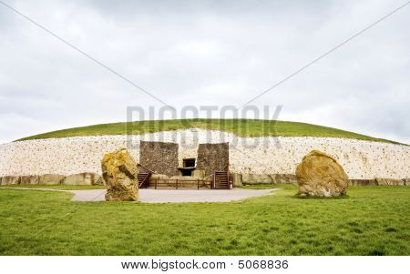 Unesco World Heritage - Newgrange In Ireland