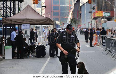 September 11 Memorial Observed in Lower Manhattan