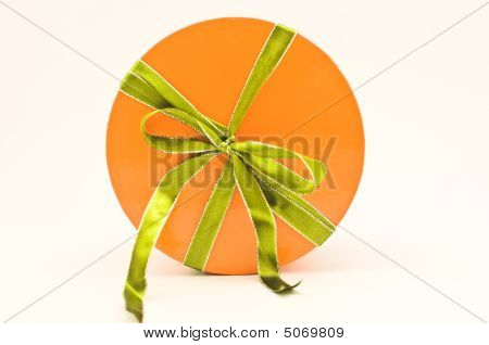 Present Tied Up With Ribbon