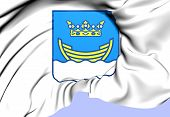 Helsinki Coat of Arms Finland. Close Up. poster