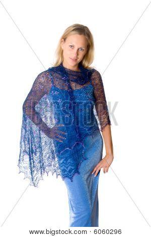 Girl In A Blue