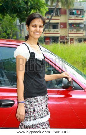 Reiche indische Mädchen
