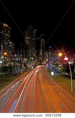 Balboa Avenue Panama City