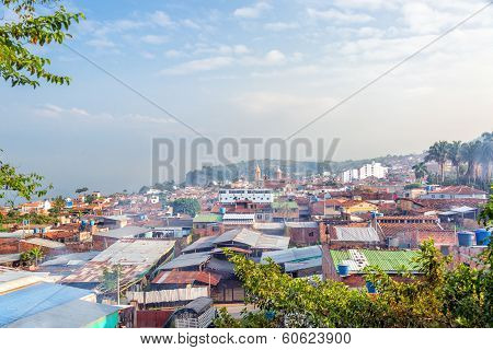View Of Socorro, Colombia